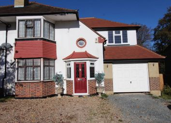 Thumbnail 4 bedroom semi-detached house for sale in Northwood Road, Carshalton