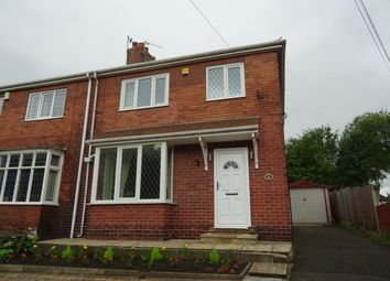 Thumbnail 3 bed semi-detached house for sale in Hall Lane, Chapelthorpe, Wakefield