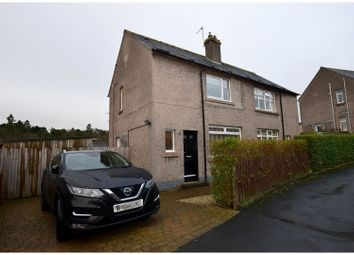 Thumbnail 2 bed semi-detached house for sale in Balmoral Road, Galashiels