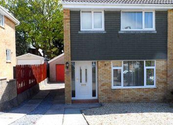 Thumbnail 3 bed semi-detached house to rent in Rhodfar Eos, Cwmrhydyceirw, Swansea.