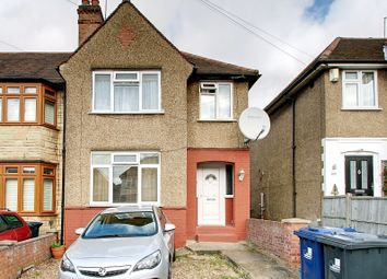 Thumbnail 3 bed end terrace house for sale in Drew Gardens, Greenford