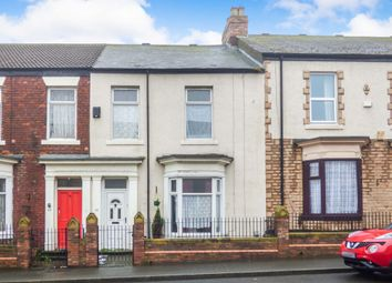 Thumbnail 3 bedroom terraced house for sale in Gray Road, Sunderland