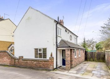 Thumbnail 3 bed detached house for sale in Mill Lane, Madeley, Crewe, Staffordshire