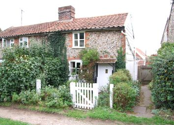 Thumbnail 2 bed semi-detached house for sale in Stone Common, Blaxhall, Woodbridge, Suffolk