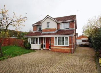 Thumbnail 4 bed detached house for sale in Herrington Close, Langley Park, Durham