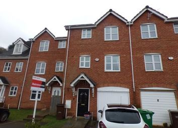 Thumbnail 3 bed terraced house for sale in Banksman Close, Nottingham