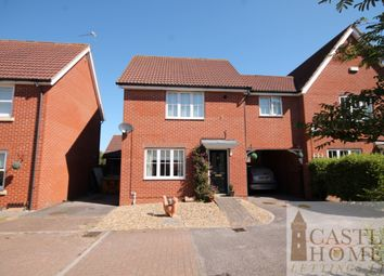 Thumbnail 3 bed semi-detached house to rent in Rivendale, Carlton Colville, Lowestoft