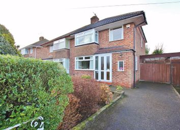 Thumbnail 3 bed semi-detached house for sale in Coombe Road, Irby, Wirral