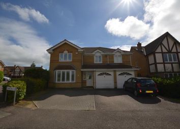 Thumbnail 5 bed detached house for sale in Aldwell Close, Wootton, Northampton, Northamptonshire