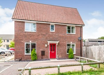 Thumbnail 3 bed semi-detached house for sale in Spitfire Drive, Carbrooke, Thetford
