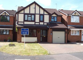 Thumbnail 4 bed detached house for sale in Newman Drive, Branston, Burton-On-Trent, Staffordshire