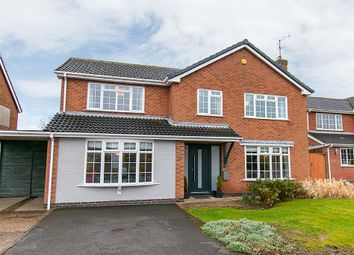 Thumbnail 4 bed detached house for sale in Sunningdale Drive, Woodborough, Nottingham
