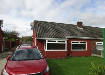 Thumbnail 2 bed semi-detached bungalow for sale in Hilary Avenue, Lowton, Warrington