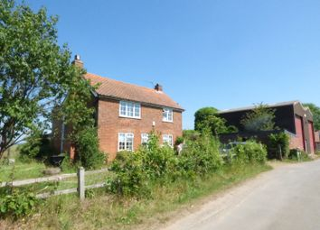 Thumbnail 4 bed cottage for sale in Hardley Street, Hardley