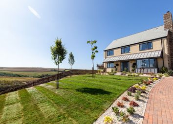 Thumbnail 4 bed detached house for sale in Malborough, Near Salcombe, Devon