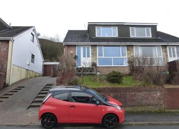 Thumbnail 2 bed semi-detached bungalow for sale in Hillcrest Drive, Porth