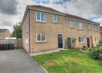 Thumbnail 3 bed semi-detached house to rent in Kendal Gardens, Consett
