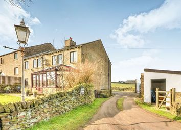 Thumbnail 4 bed semi-detached house for sale in Moor End Road, Mount Tabor, Halifax