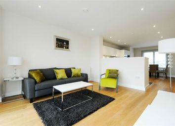 Thumbnail 2 bed flat to rent in Barquentine Heights, 4 Peartree Way, North Greenwich, London