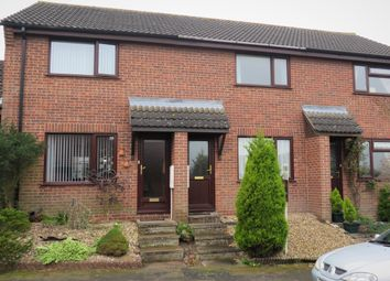 Thumbnail 2 bed terraced house for sale in Wheatfields, Rickinghall