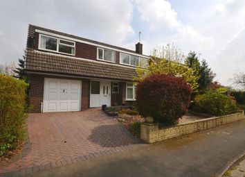 Thumbnail 3 bed detached house for sale in Milton Drive, Market Drayton