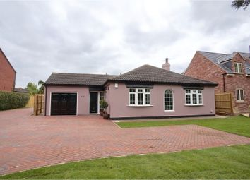 Thumbnail 4 bed detached bungalow for sale in Newark Road, North Hykeham