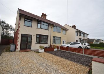 Thumbnail 3 bed semi-detached house for sale in Sandbrook Lane, Moreton, Wirral