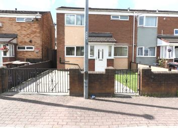 Thumbnail 3 bed end terrace house for sale in Brompton Avenue, Kirkby, Liverpool