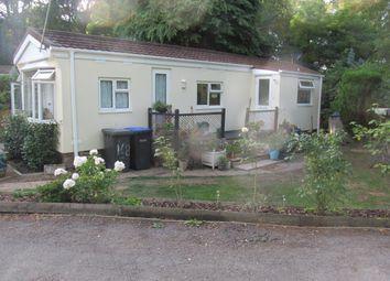 Thumbnail 1 bed mobile/park home for sale in Fangrove Park (Ref 5977), Lyne Lane, Chertsey, Surrey