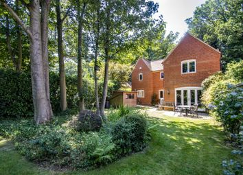 Thumbnail 4 bed detached house for sale in Wood Green, Woodcote, Reading