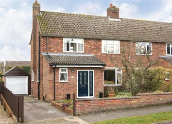 Thumbnail 3 bed semi-detached house for sale in Hervey Road, Bury St. Edmunds