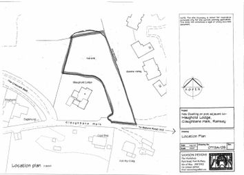 Thumbnail Land for sale in Adjacent To Maughold Lodge, Claughbane Walk, Ramsey