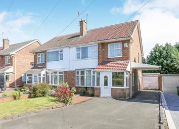 Thumbnail 3 bed semi-detached house for sale in Broad Lane, Tile Hill, Coventry, West Midlands