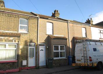 Thumbnail 2 bed terraced house to rent in North Road, Sheerness