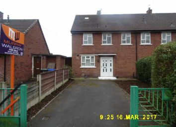 Thumbnail 3 bed terraced house for sale in Meadowgate Road, Salford