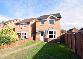 Thumbnail 3 bedroom detached house for sale in Selvester Drive, Quorn, Loughborough