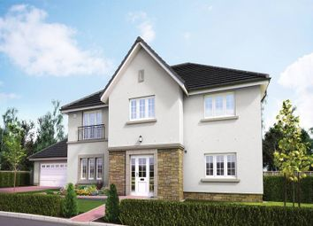 "Thumbnail 5 bed detached house for sale in ""The Macrae"" at Wilkieston Road, Ratho, Newbridge"