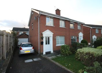 Thumbnail 3 bed semi-detached house for sale in Manor Avenue, Bangor