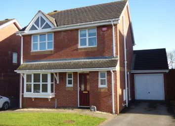 Thumbnail 3 bed detached house for sale in Bro Caerwyn, Llangefni, Anglesey, North Wales