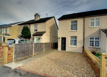 Thumbnail 2 bed semi-detached house to rent in New Haw Road, Addlestone, Surrey