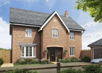 "Thumbnail 4 bed detached house for sale in ""Winstone"" at Great Denham, Bedford"