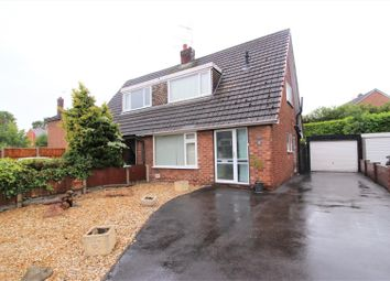 Thumbnail 2 bed semi-detached bungalow for sale in Linley Avenue, Johnstown, Wrexham