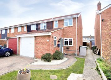 Thumbnail 3 bed end terrace house to rent in Hamble Avenue, Blackwater, Camberley, Surrey