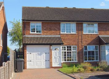 Thumbnail 3 bed semi-detached house for sale in Maisemore Close, Church Hill North, Redditch, Worcs.