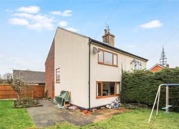 Thumbnail 2 bed semi-detached house for sale in Carol Close, Stoke Holy Cross, Norwich, Norfolk
