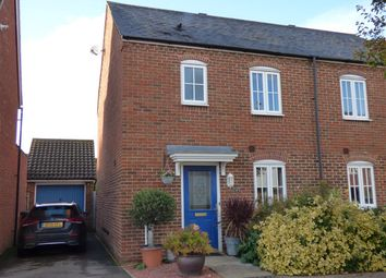 Thumbnail 3 bed semi-detached house for sale in The Gables, Ongar