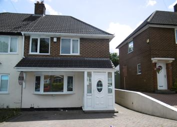 Thumbnail 3 bed semi-detached house to rent in Lambeth Road, Great Barr, Birmingham