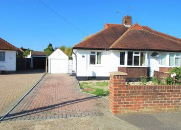 Thumbnail 2 bed semi-detached bungalow for sale in Whitehall Crescent, Chessington