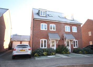 Thumbnail 3 bed semi-detached house for sale in Vespasian Way, North Hykeham, Lincoln, Lincolnshire