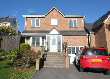 Thumbnail 4 bedroom detached house for sale in Cudd Y Coed, Barry
